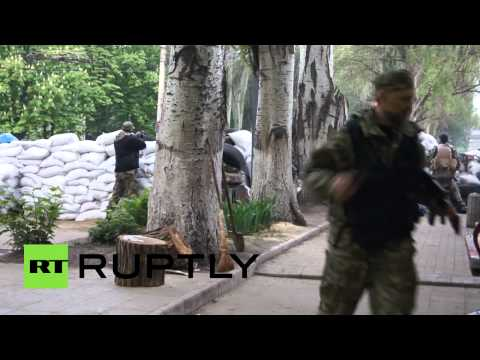 Video: Slavyansk self-defenders guard barricades, prepare for 'Kiev offensive'