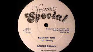 DENNIS BROWN - Rocking Time [1982]