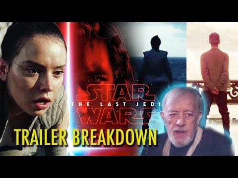 Thumbnail: STAR WARS: THE LAST JEDI Teaser Trailer Breakdown (2017) Mark Hamill, Carrie Fisher, Daisy Ridley