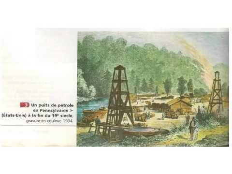Cours 4ème - La révolution industrielle (l'apparition de nouvelles énergies et du monde ouvrier)