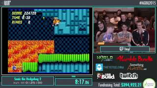 Awesome Games Done Quick 2015 - Part 91 - Sonic the Hedgehog 2 by Timpz
