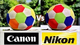 Canon 200D Vs Nikon D3300 | Detailed Side By Side Photo & Video Comparison | Best DSLR in Hindi