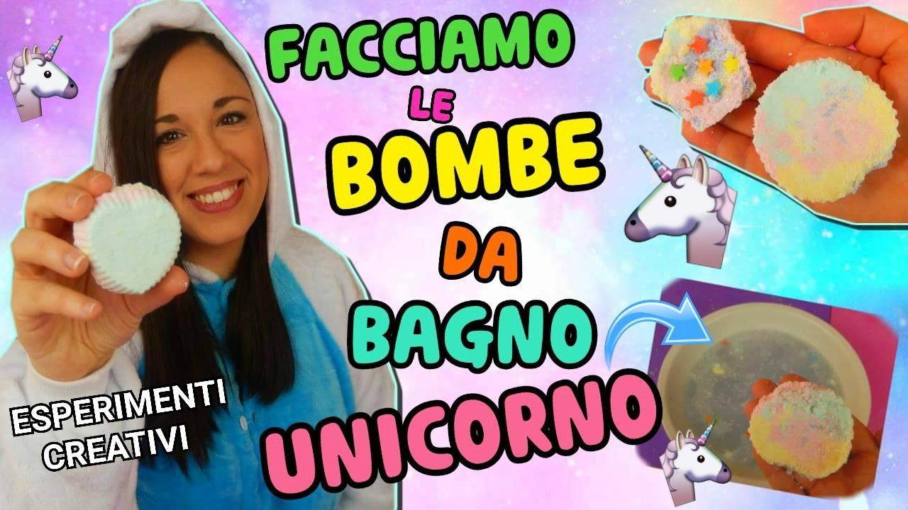 Facciamo bombe da bagno unicorno come lush esperimenti creativi iolanda sweets youtube - Come fare bombe da bagno ...