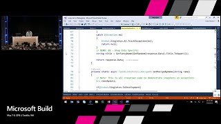 Supercharge your debugging in Visual Studio 2017 : Build 2018