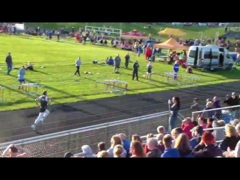 Stebbins High School: Keith Sanders 400 meters @ Northeastern