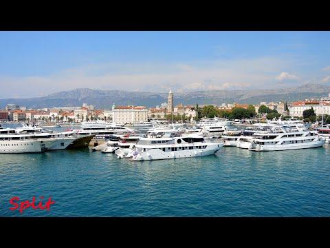 Split Harbor Croatia 1080p HD