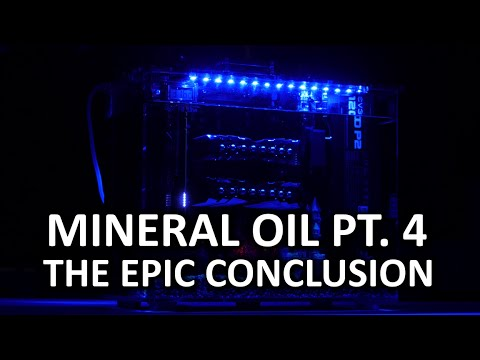 Mineral Oil Cooled PC Part 4 - Q&A
