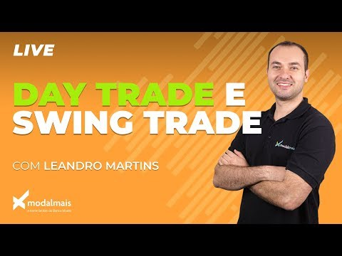 Leandro Martins ao vivo - Day Trade e Swing Trade