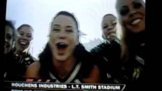 South Florida Cheerleaders on ESPN Plus