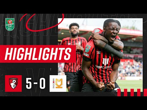 Bournemouth Milton Keynes Goals And Highlights