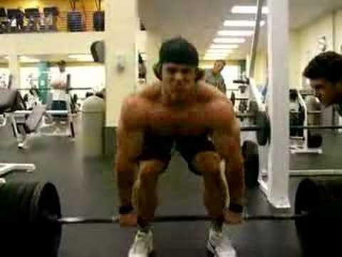 bradly castleberry bodybuilder deadlifting youtube