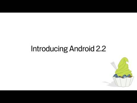 Android 2.2 Official Video