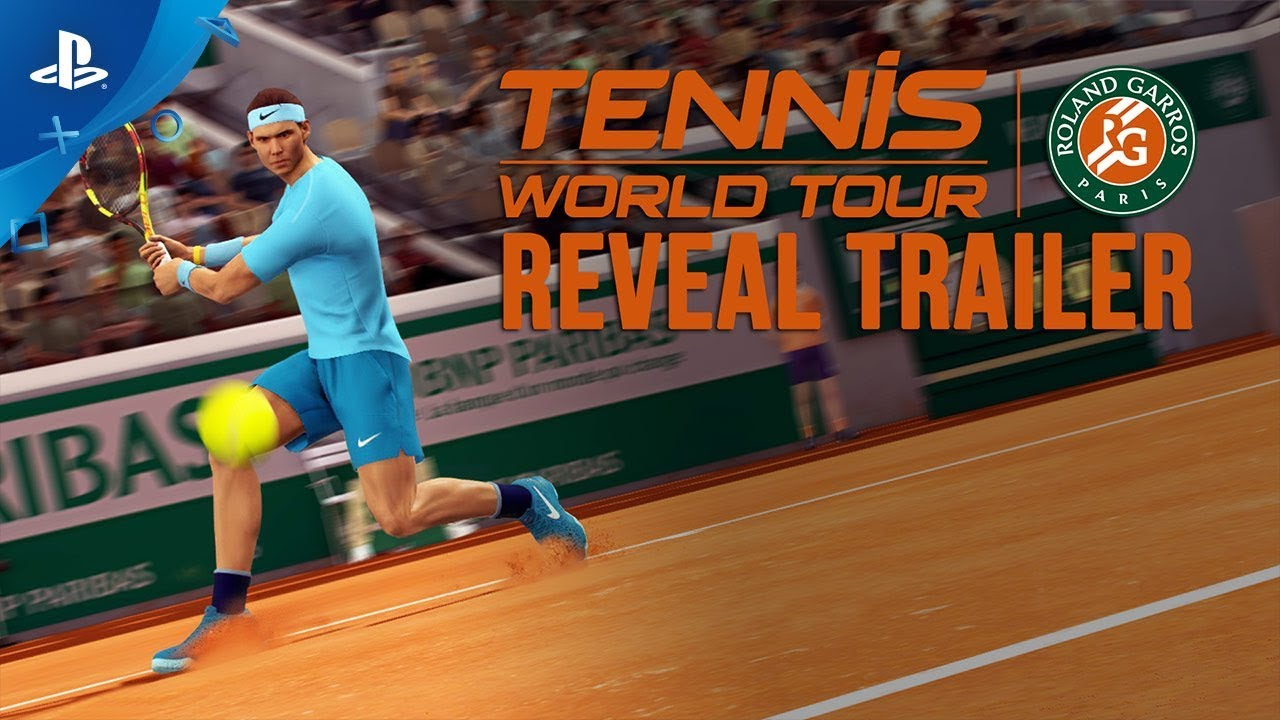 Tennis World Tour: Roland-Garros Edition - Nadal Reveal Trailer | PS4