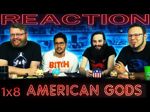 "American Gods 1x8 FINALE REACTION!! ""Come to Jesus"""