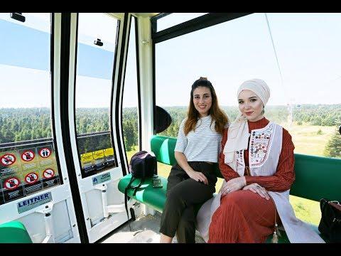 HILARIOUS TURKEY TRIP TO BURSA TELEFERIK | NABIILABEE