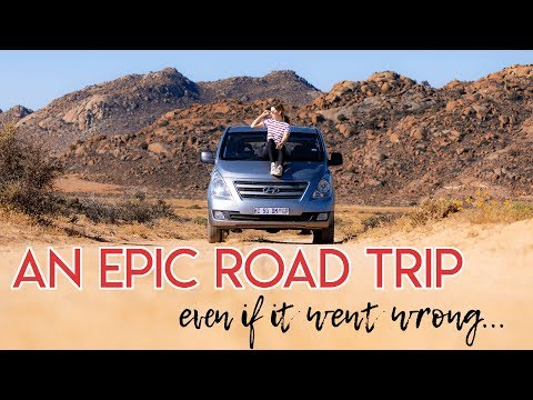 NAMIBIA Road Trip From Cape Town! South Africa 2018