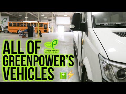 GreenPower Vehicles