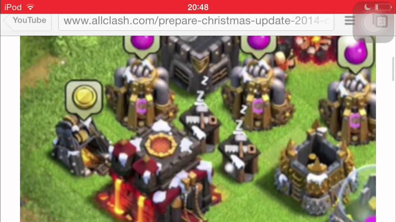 clash of clans mise a jour noël 2018 Mise à jour de Noël #2 ! Énorme ! ~Clash of clans~   YouTube clash of clans mise a jour noël 2018