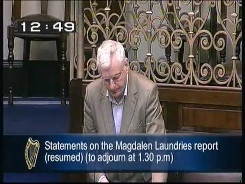 Joe Higgins (Socialist Party) speaking on the Magdalene laundries