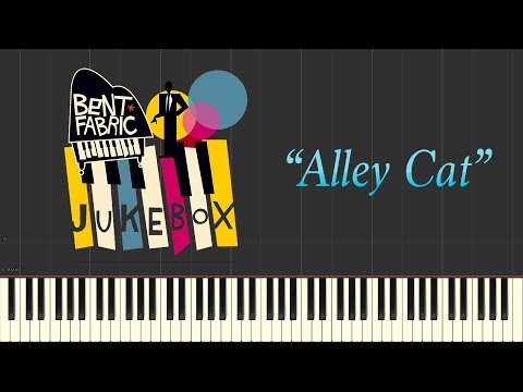 Bent Fabric - Alley Cat (Piano Tutorial Synthesia)