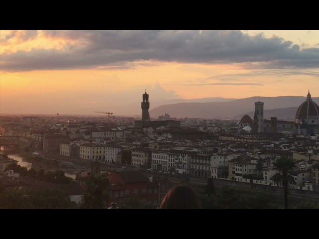 ITALY - Sunset on Florence