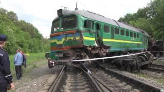 Аварія на залізниці Хмельницька область 27.06.2017