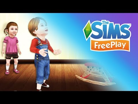 Sims Freeplay #007: Age Up Baby to Toddler/Ben's Birthday!