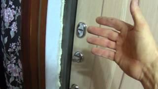 Установка входной металлической двери(Этот ролик обработан в Видеоредакторе YouTube (https://www.youtube.com/editor), 2015-11-30T01:11:49.000Z)