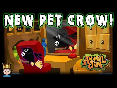 How Do You Get The New Pet Crow on Animal Jam?!