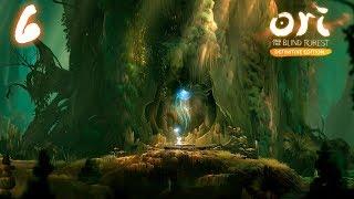 Ori and the Blind Forest прохождение на геймпаде часть 6 Древо Гинзо