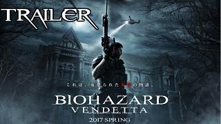 RESIDENT EVIL VENDETTA - TRAILER OFICIAL