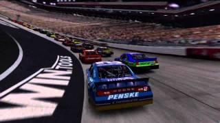 NASCAR The Game 2011 Race at Bristol (Night) with Brad Keselowski