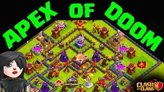 Clash of Clans Defense - The APEX OF DOOM DOMINATES!