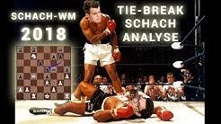 Schach WM 2018 Tiebreak Finale | Carlsen vs Caruana | Schach-Analyse Deutsch