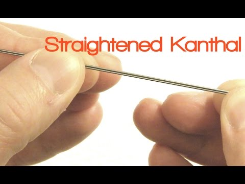 Vaping Tips: How To Straighten Kanthal Wire