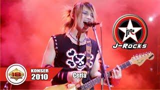 KONSER J-Rocks | Tampil Lebih Keren ...Bawain Lagu CERIA (LIVE KONSER SURABAYA 22 MEI 2010)
