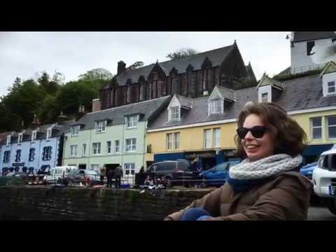 ISUK Tour - Isle of Skye Weekend Trip. Seagulls in Portree