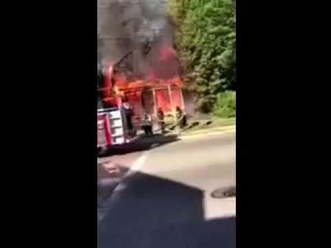Kinderkamack Road house fire in Oradell.