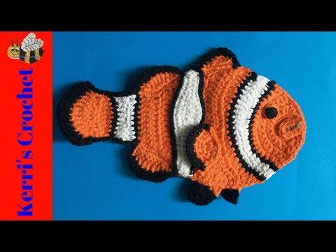 Crochet Clown Fish Pattern • Kerri's Crochet