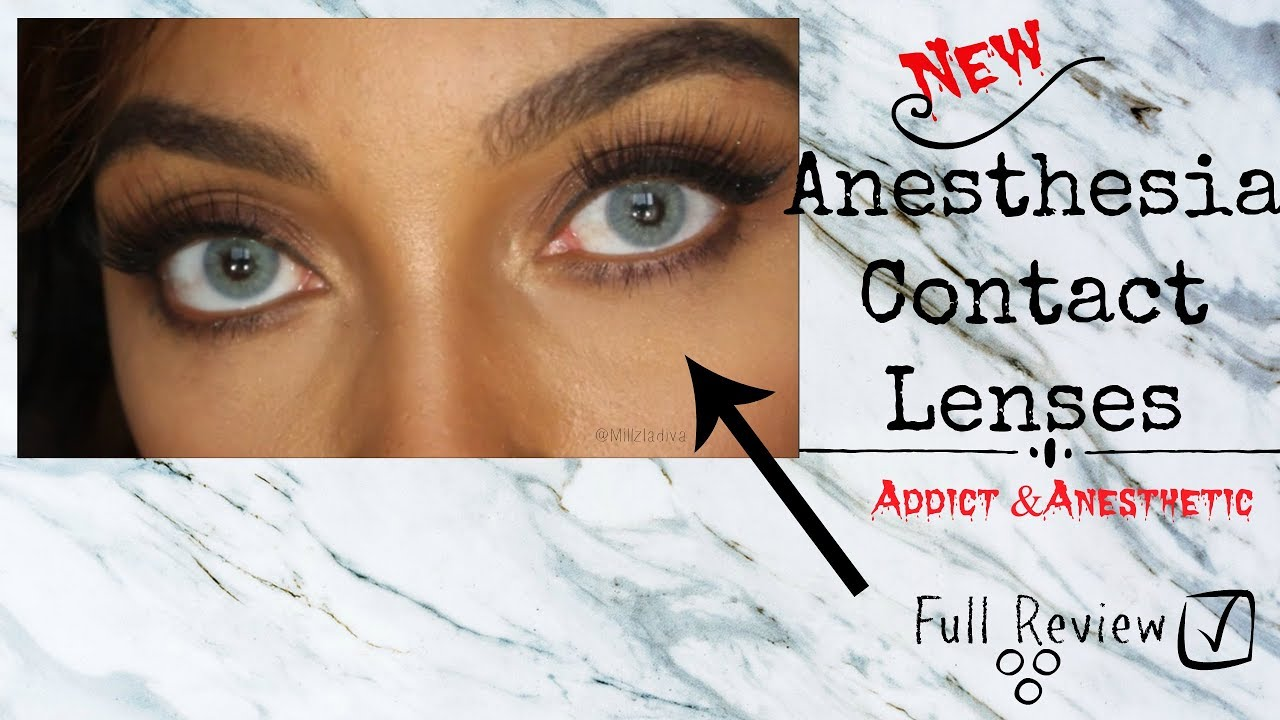 32b12c60e New! Anesthesia Contact-Lenses Full Review- Part 1 - YouTube