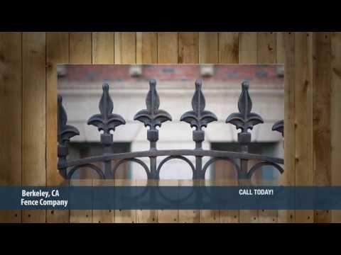 Fence Company Berkeley CA. Call Today!