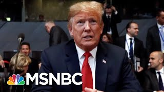 Former NSA: Donald Trump 'Was Elected To Disrupt, And That Is What He Is Doing' | MTP Daily | MSNBC