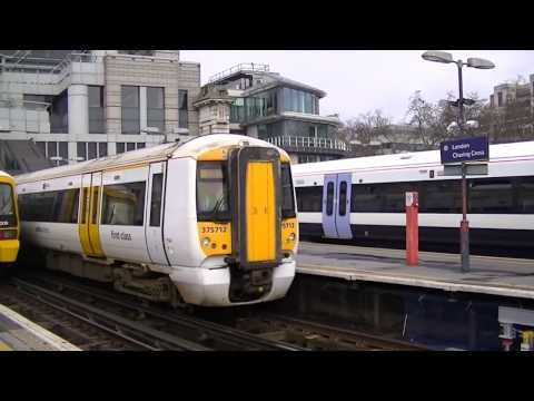 Trains at London Charing Cross 01/03/14