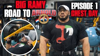 BIG RAMY   ROAD TO ARNOLD  2020   9 WEEKS OUT   EPISODE 1