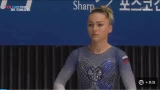 Maria Paseka (Мария Пасека) - Vault - Korea Cup 2019