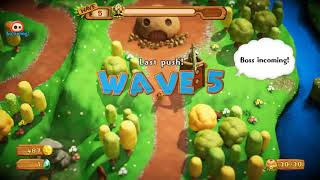 PixelJunk Monsters 2 Gameplay (PC Game).