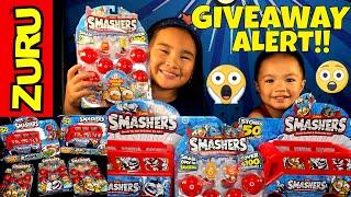 Zuru Smashers Review & Giveaway!!!