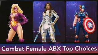 Combat Female Alliance Battle: Top choices | ABX - Marvel Future Fight