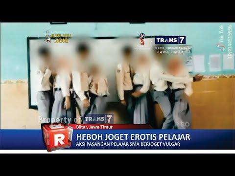 TRANS7 JATIM - Viral!! Heboh Joget Erotis Pelajar Blitar