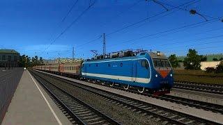 Trainz12 (3.7, 61388) | Мичуринск-Уральский - Липецк на ЭП1М-645 / Michurinsk - Lipetsk EP1M-645